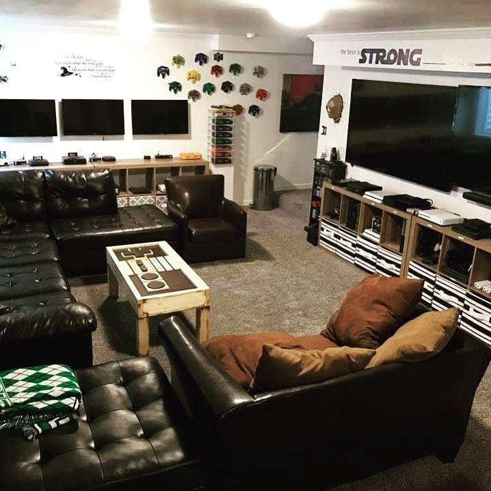 starwars and video game themed decor