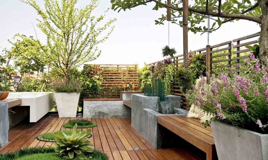 Built-In Patio Planter Ideas: Grow Your Outdoor Space