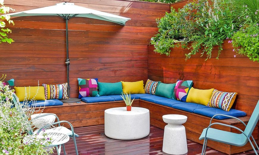 Small Contemporary Deck Design: Create that Picture-Perfect Outdoor Retreat