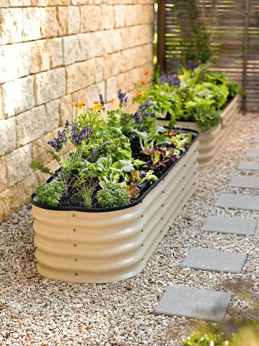 DIY tub planter