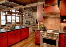 Dashing-kitchen-with-smart-red-islands-and-stone-countertops-18484-217x155