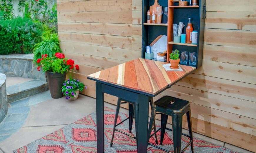Outdoor Bar Ideas to Upgrade Your Backyard [10 Easy DIYs]