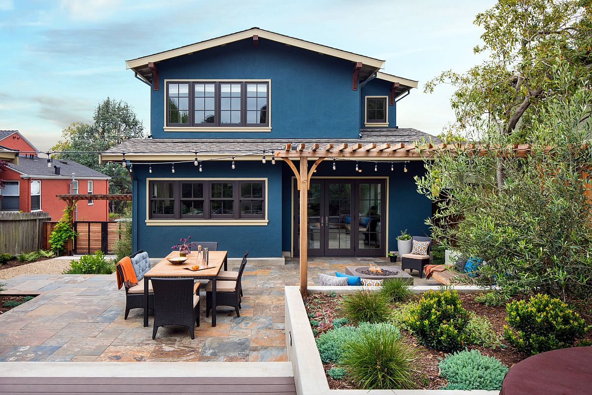 Give the outdoor hangout some shade with a smart pergola structure