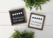 Give-your-bathroom-a-fabulous-five-star-rating-with-this-trendy-bathroom-sign-on-the-wall-96309-217x155