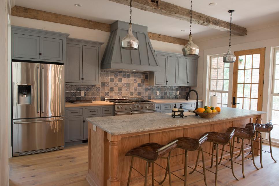 Gray Kitchen Cabinet