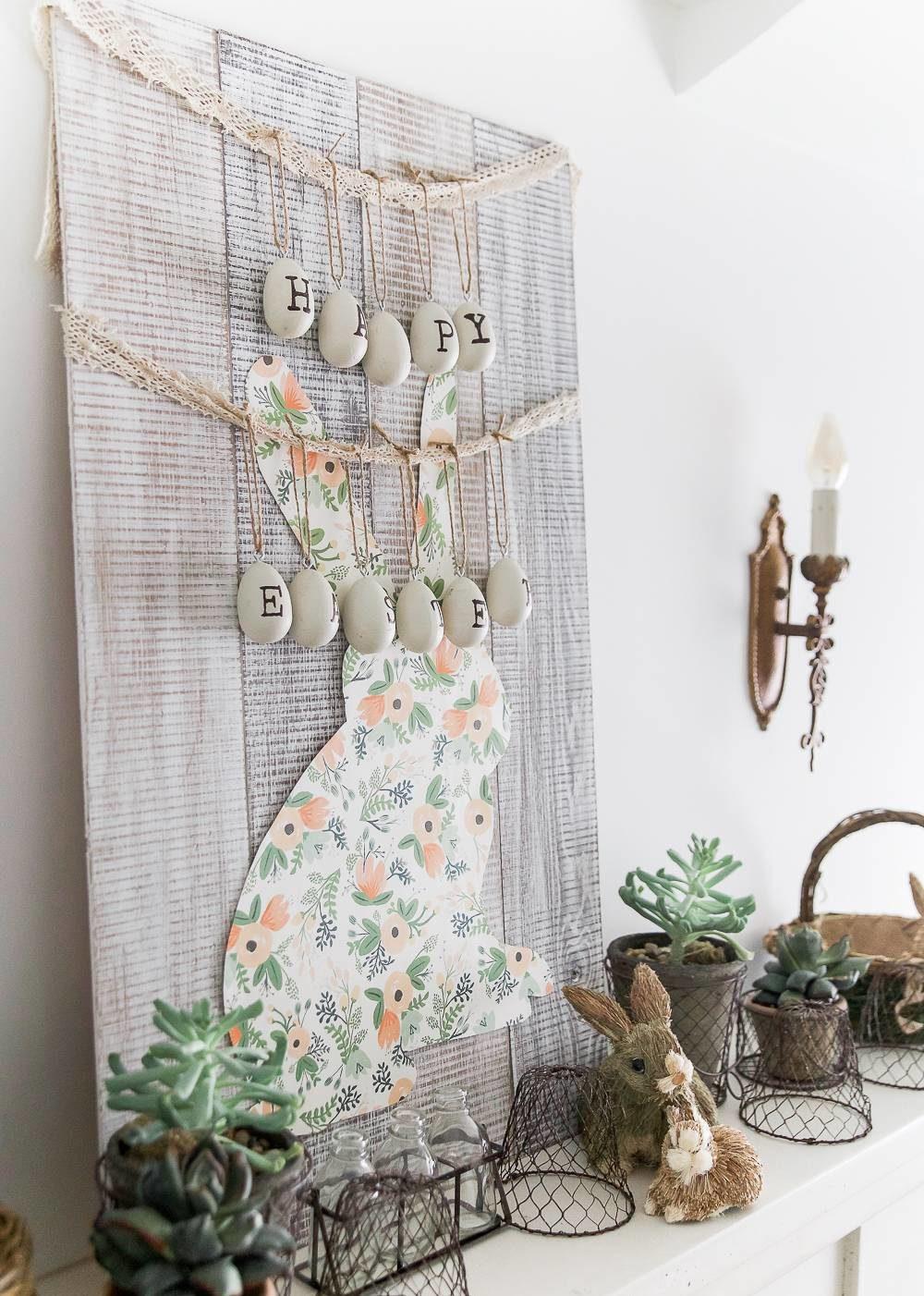 Creative and Modern DIY Easter Decor