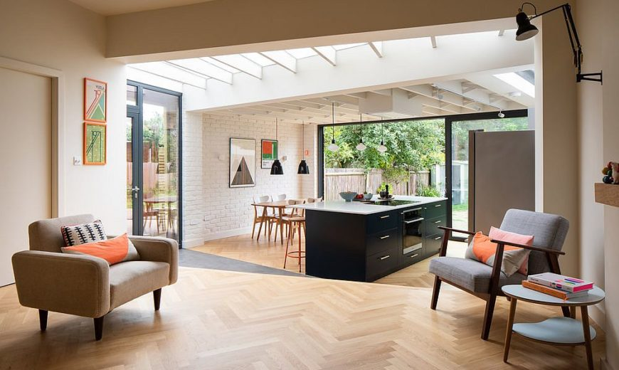 Reoriented London Home Finds a New Garden and Interior with a Relaxing Vibe