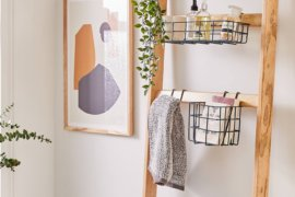 Smart Over the Toilet Storage Solutions [16 Chic Options!]