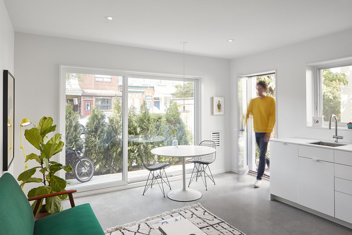 Little barn laneway suite with clever, space-conscious design