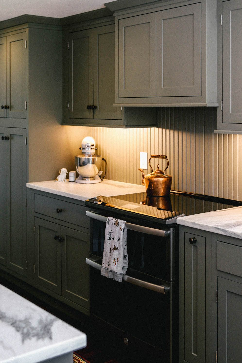 New England Style Kitchen Cabinet