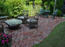 Rustic Brick Floor