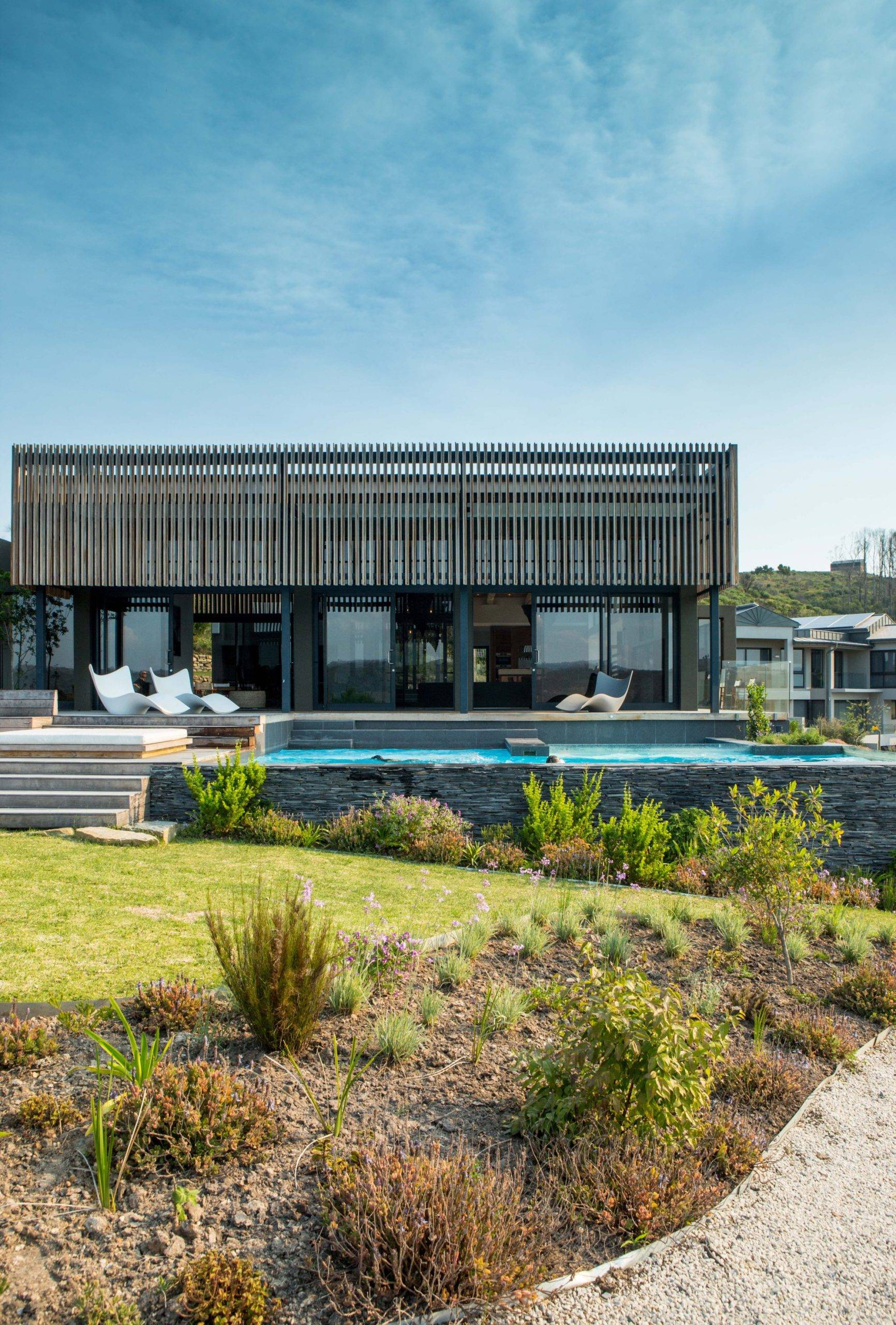 Secondary home in South Africa that can is also used as a holiday home when the homeowners are not in town