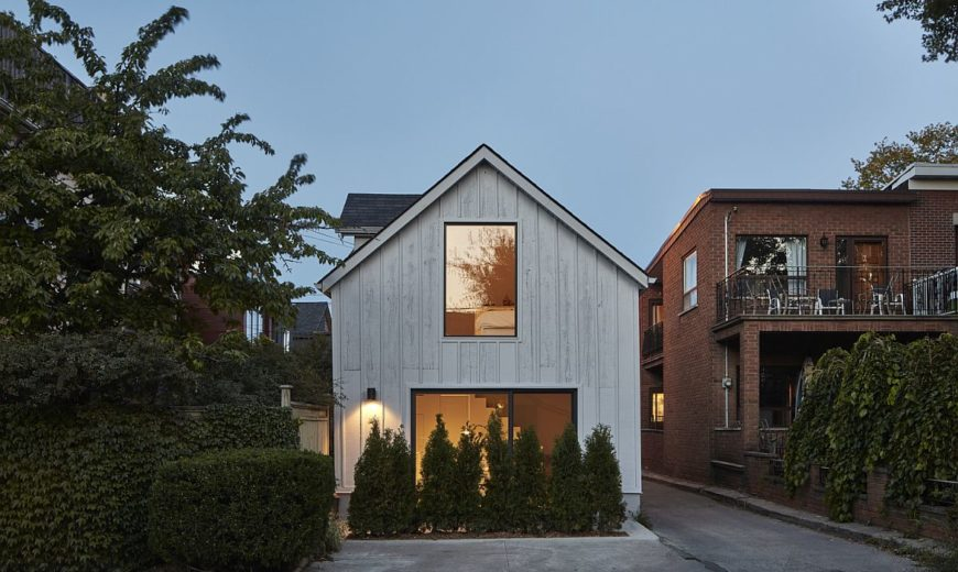 600 Square Foot Garage Transformed into a Space-Savvy One-Bedroom Dwelling