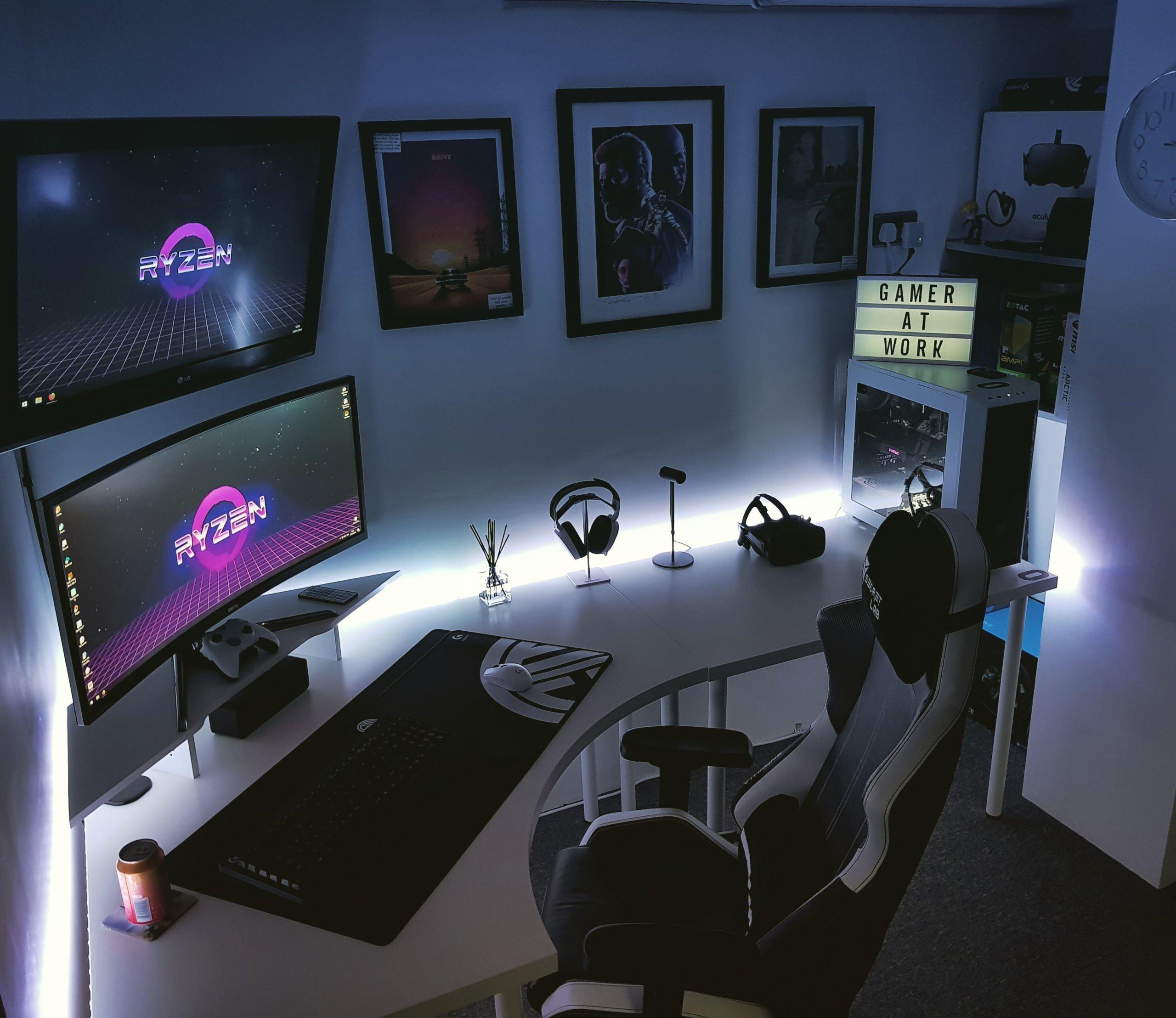 Subtle Video Game Room