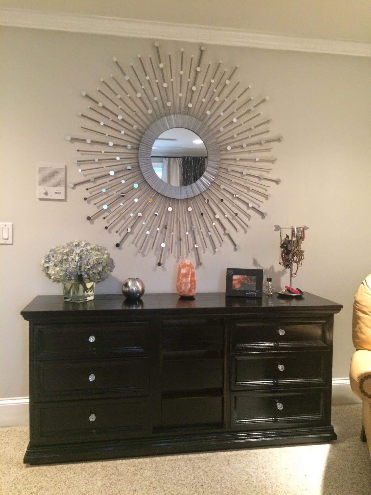 Sunburst Mirror Decor Piece