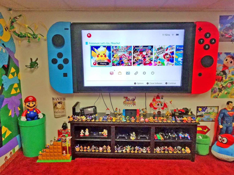 Super Mario Inspired Room Decor