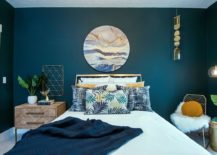 Vivacious-modern-beach-style-bedroom-with-dashing-teal-walls-and-fabulous-print-97801-217x155