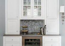 White Pantry Style Cabinet