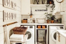 Farmhouse Laundry Room Design Ideas That Serve Function and Form