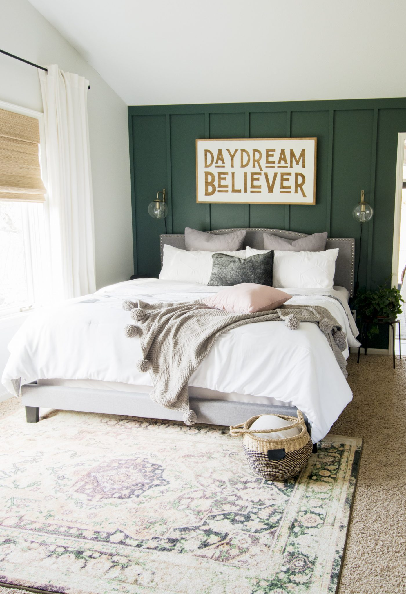 Modern Earth Tone Chic Bedroom Space