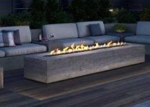 Outdoor Propane Fire Table Backyard Fire Pit Ideas