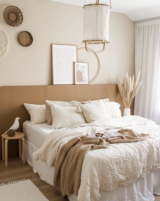 Sandy Earth Toned Bedroom