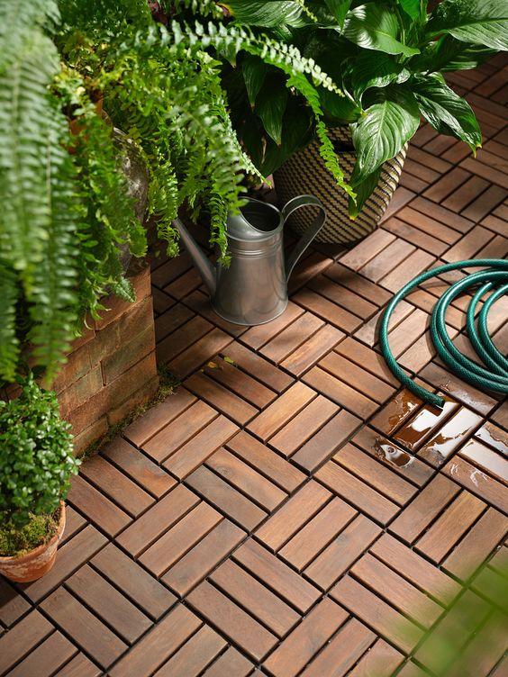 Trending Patio Decor Weatherproof Flooring RUNNEN Ikea