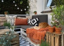 Modern Rustic Theme Patio Decor
