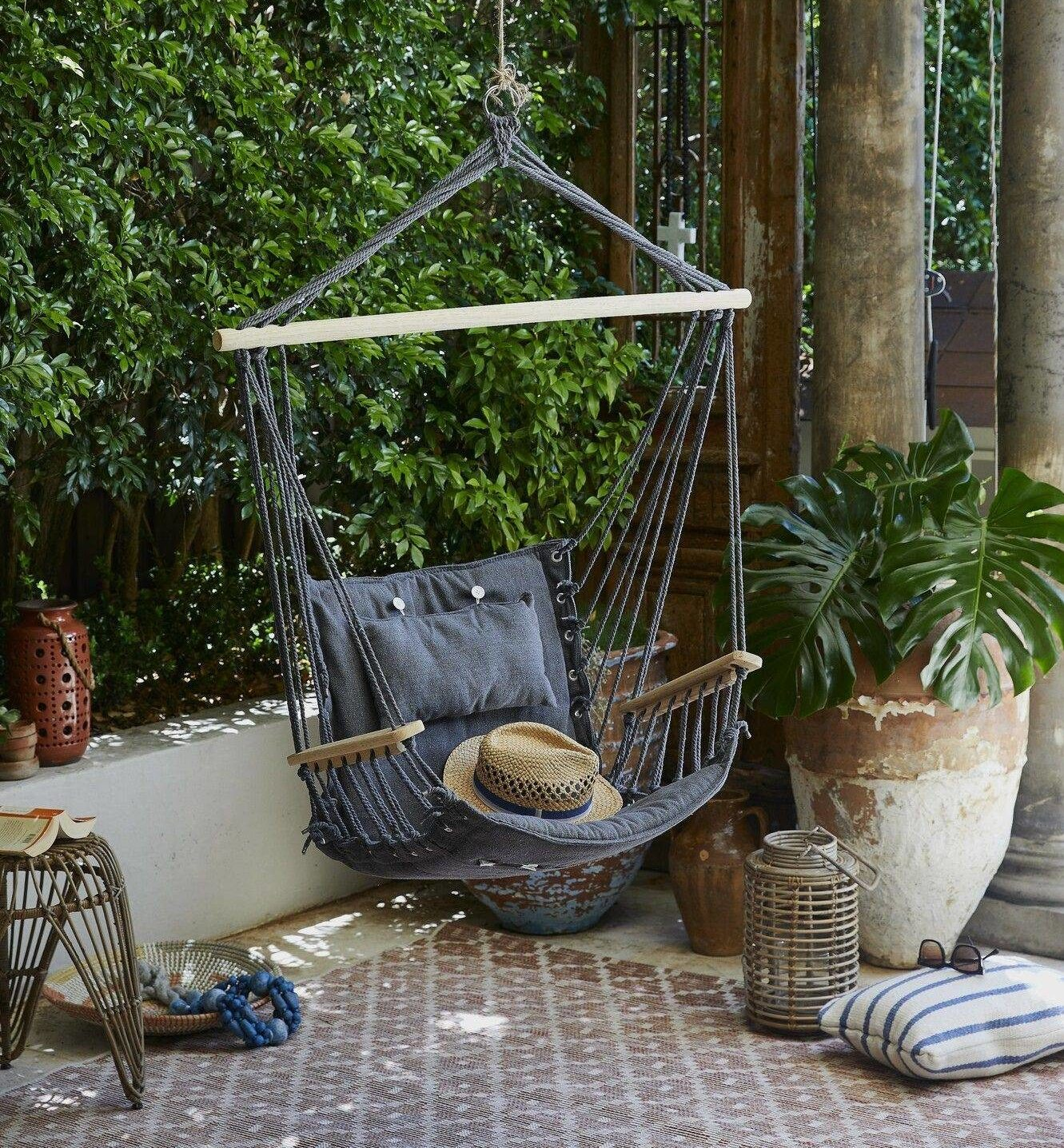 Modern Patio Design Alternative Seating Hammock Chair Lounger