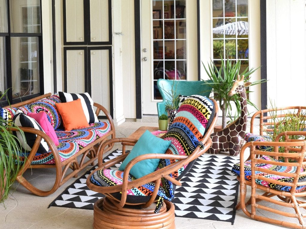 Bohemian Chic Boho Patio Decorating Ideas