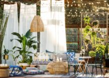 Bohemian Patio Decor Modern Chic