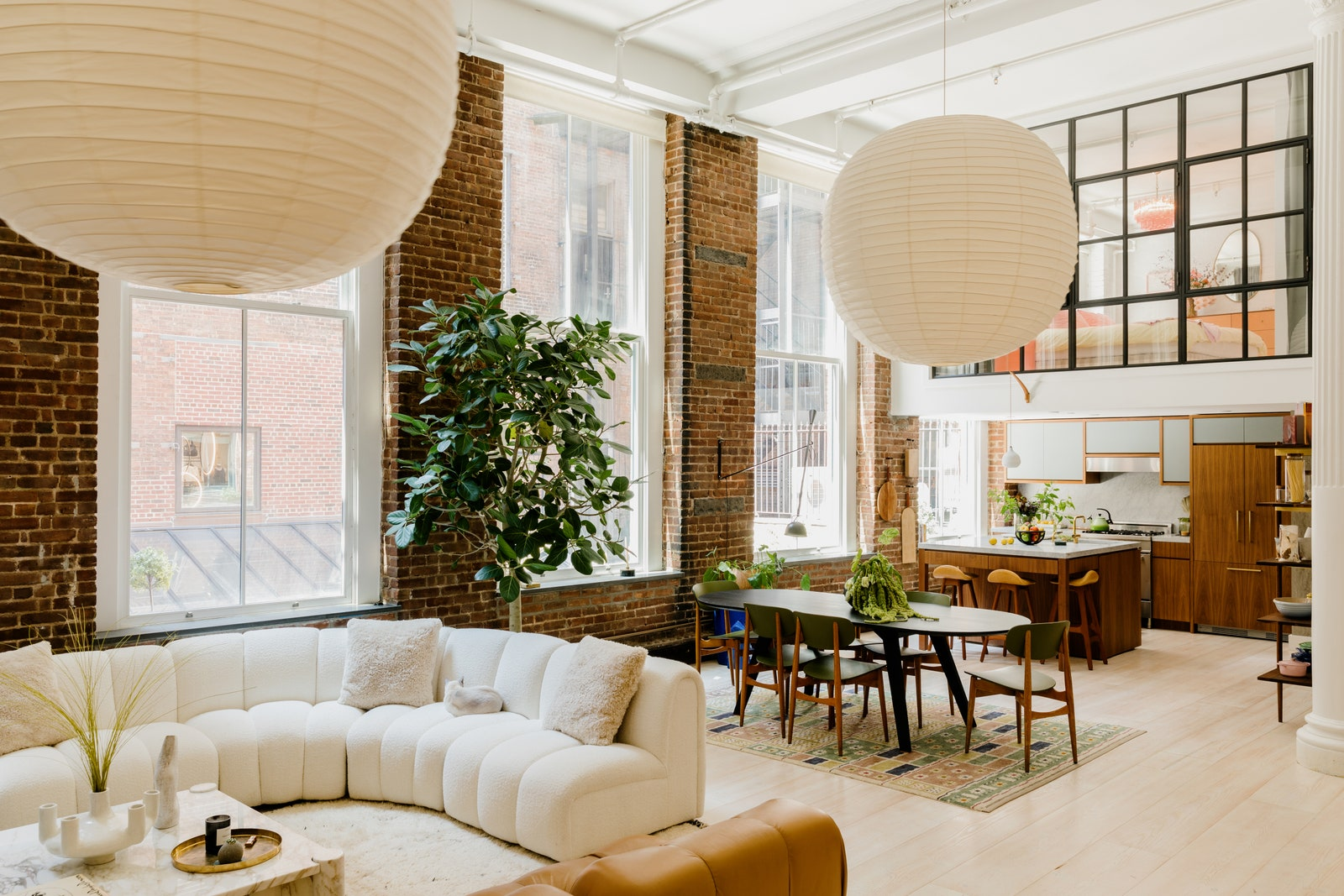 Mid Century Modern Lighting Elsa Hosk Apartment