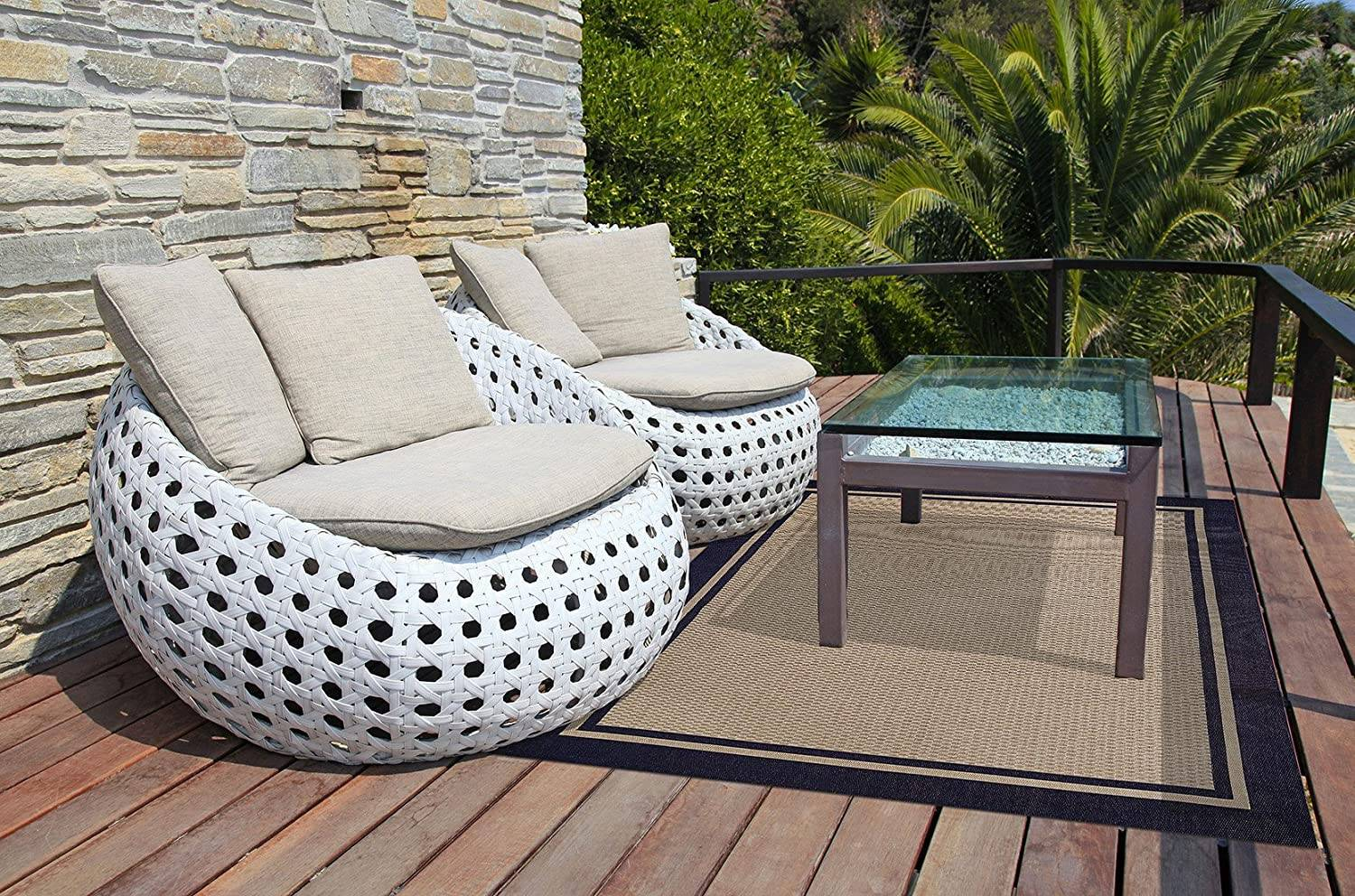 Modern Chic Artsy Patio Alternative Seating Round Bubble Chairs