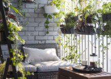 Ikea Plant Decor Balcony Patio Natural