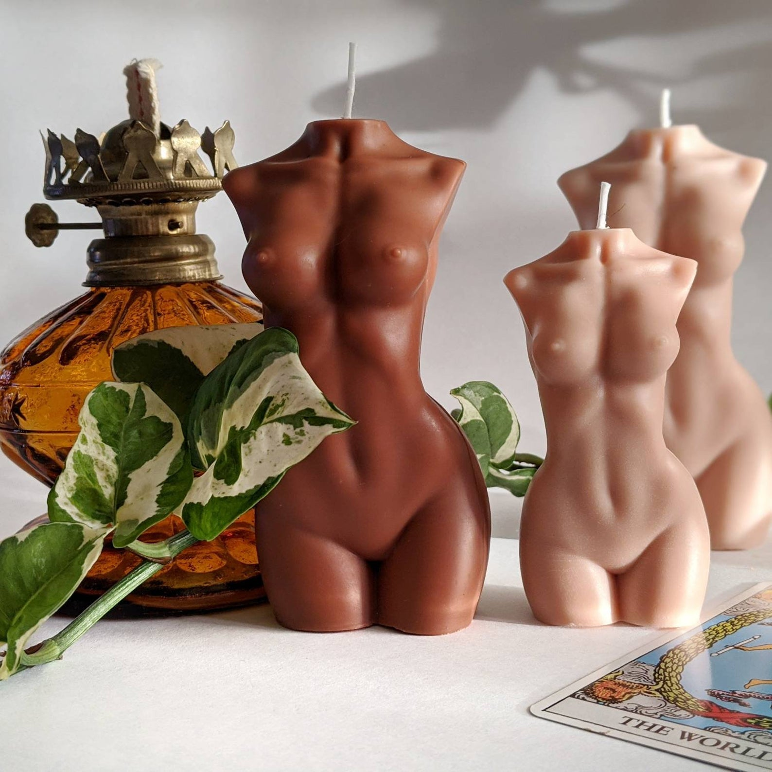 Etsy Woman Body Form Skin Tone Candle Decorating Ideas