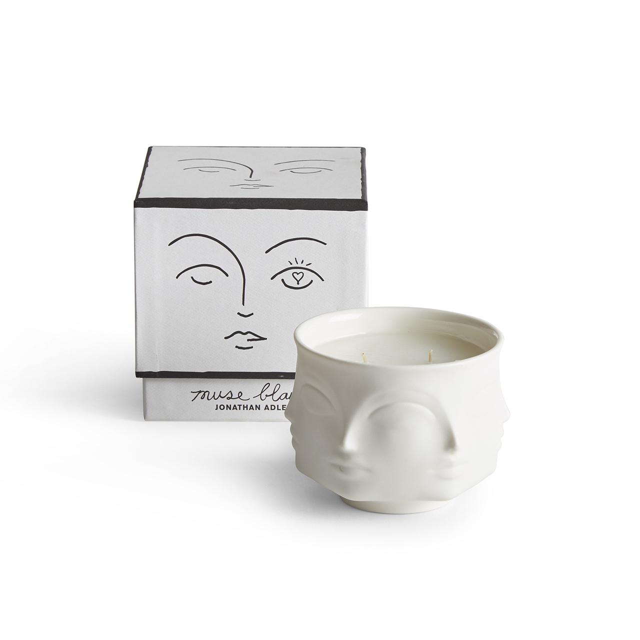 Candle Decorative Jar Minimalist Design