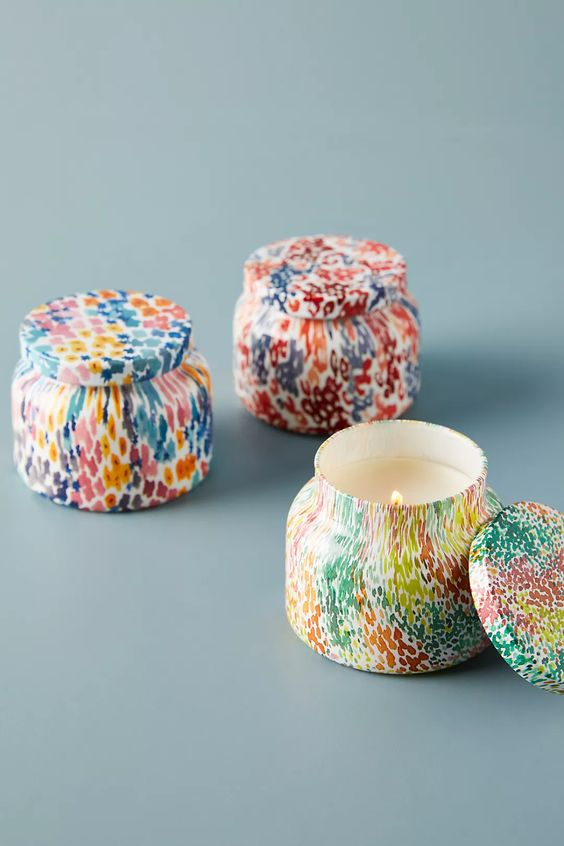 Decorative Candle Jars Anthropology