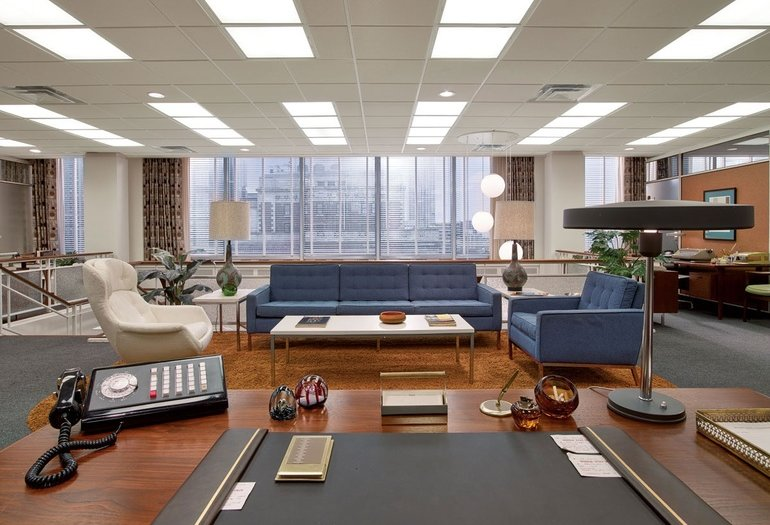 Mid Century Modern Design in Mad Men