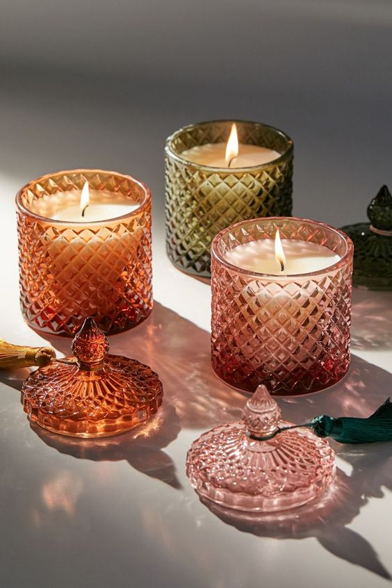 Urban Outfitters Vintage Chic Decorative Candles