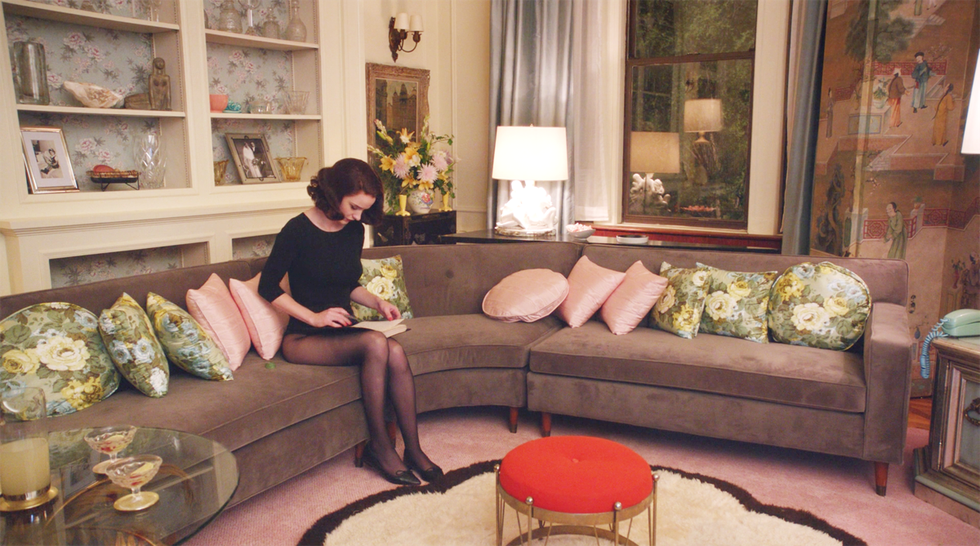 Mid Century Modern Design in The Marvelous Mrs. Maisel