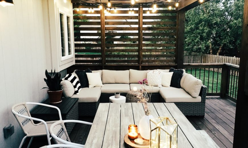 10 Styling Rules for a Perfect Patio Design