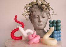 DIY Trend Candle Bending Aesthetic