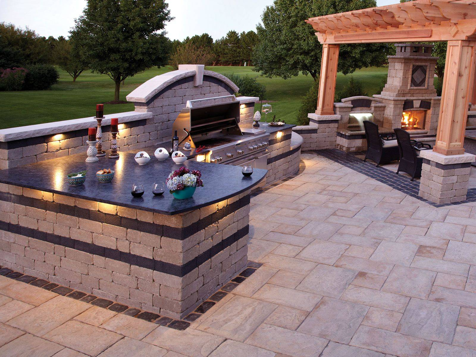 Barbecue Area Set up