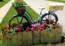 Bicycle Mailbox