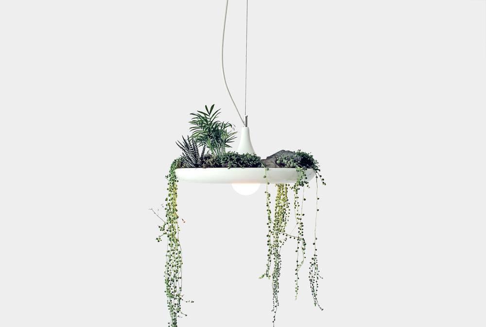 Chic planter light Babylon