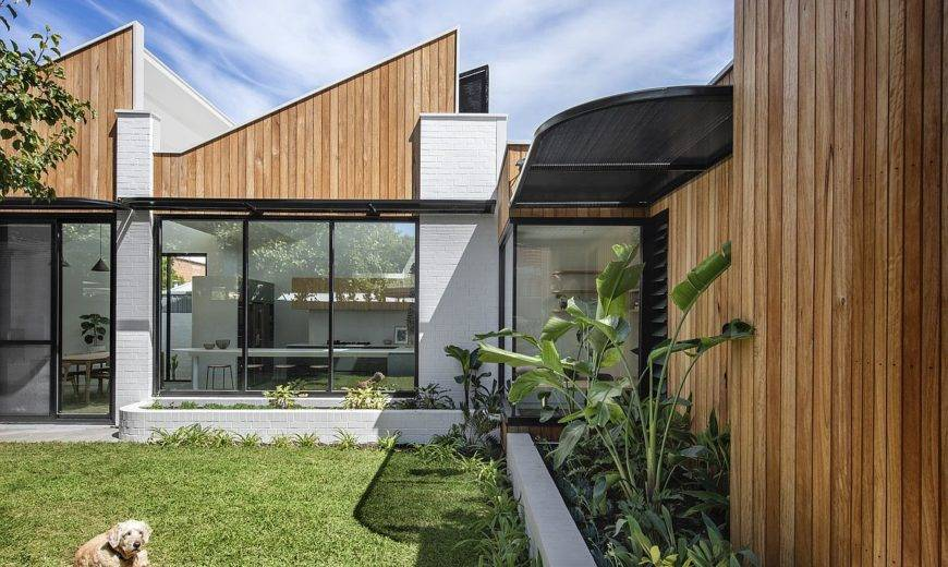 Inspired by an Art-Deco Past: Contemporary Suburban Home in Adelaide