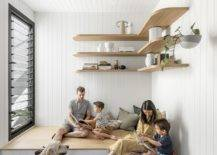Custom-wooden-bench-with-storage-and-floating-wooden-shelves-for-the-family-room-22353-217x155