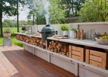 Deck Countertop with Storage