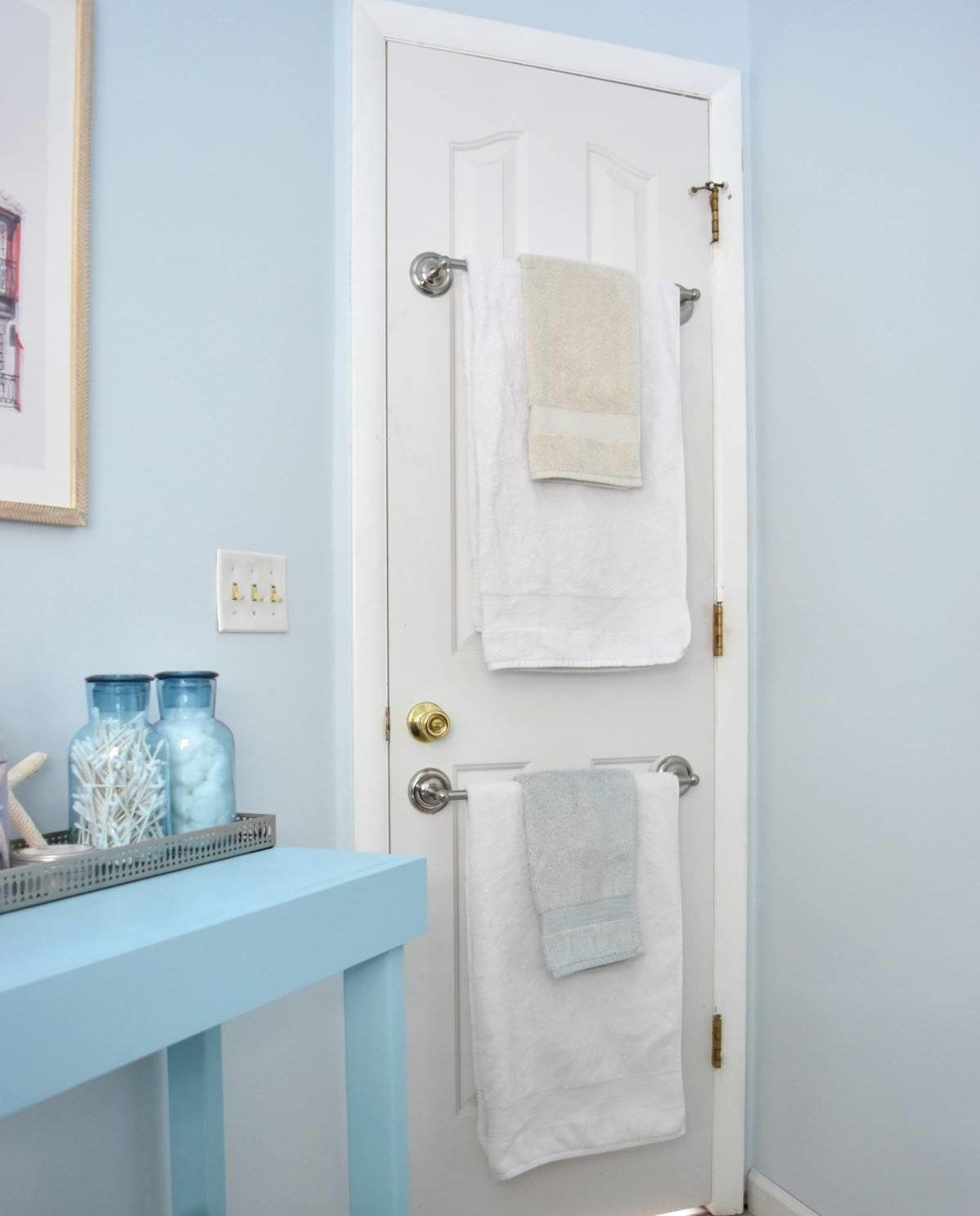 Door Mounted Towel Bars