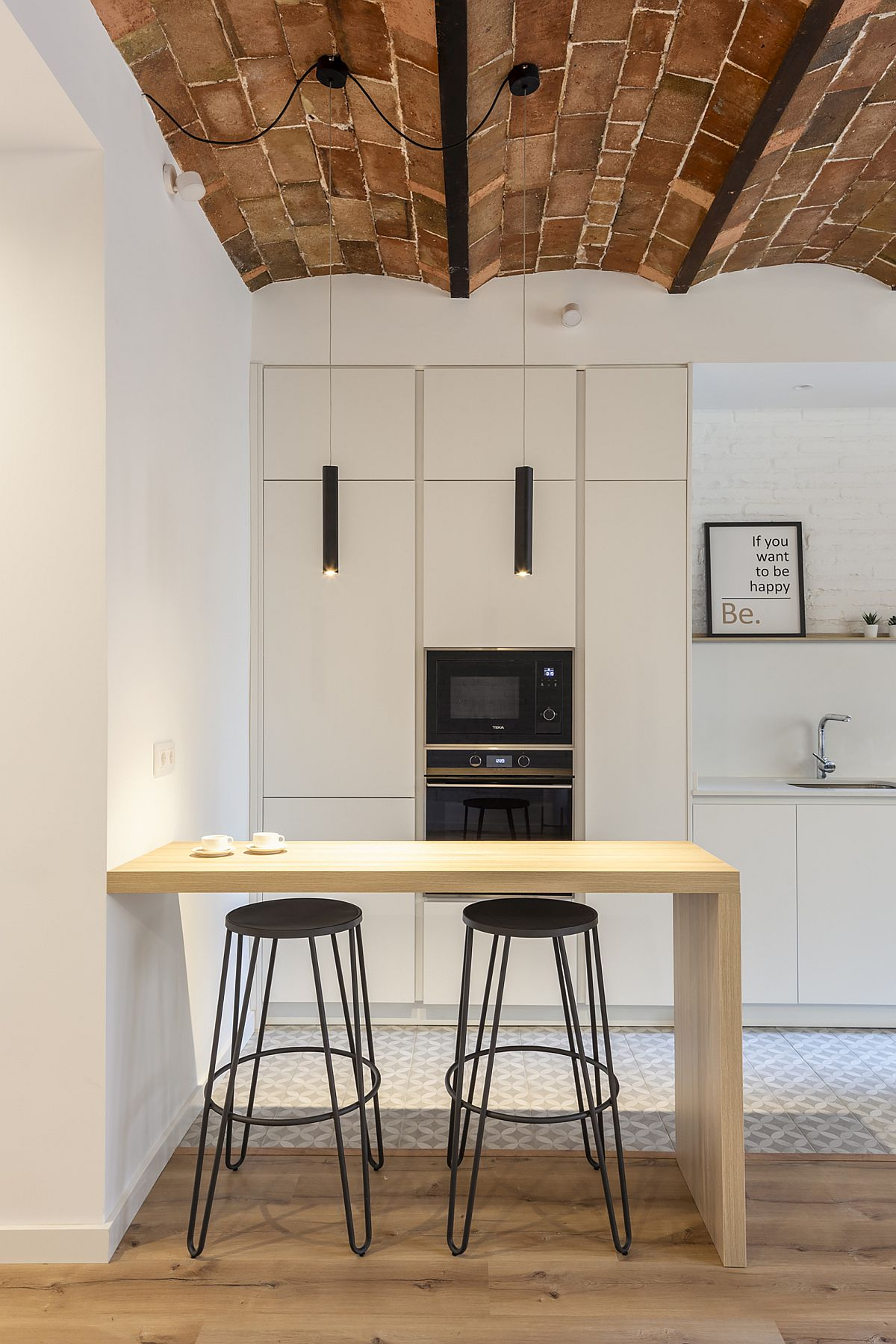 Fabulous modern kitchen is the heart and soul of the new Barcelona home